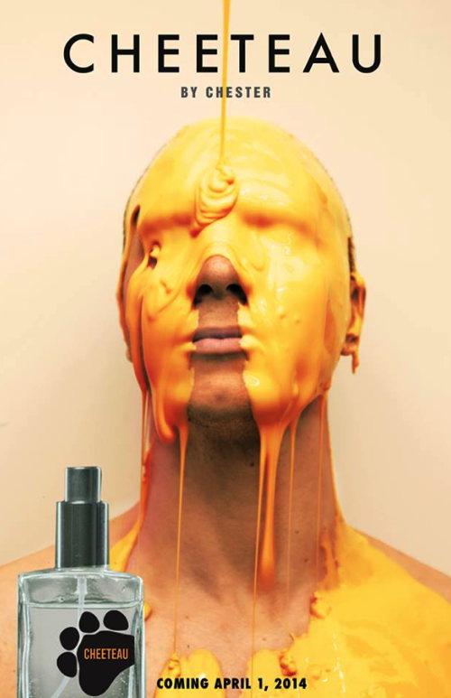 """alt=""""Cheetos debut perfume - Cheetaux! A whiffy alternative to eau de toilette """""""